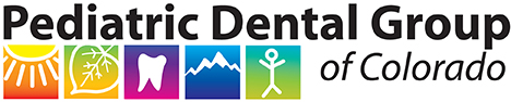 Pediatric Dental Group of Colorado horizontal logo